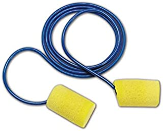 E-A-R by 3M 10080529110012 3M Ear 311-1101 Classic Regular Corded Disposable Foam Earplugs, Blue, One Size Fits All (Pack of 200)