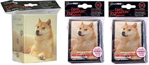 Ultra Pro Official Doge Deck Protector Sleeves 100 Count Pack