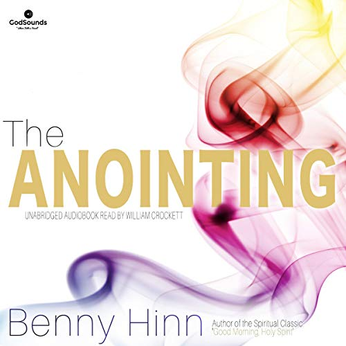 The Anointing audiobook cover art