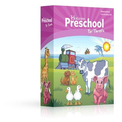 Horizons Preschool for Three's Curriculum Set
