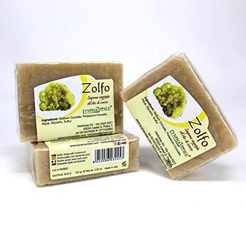 Schwefel Seife – 100% Natürliche Seife - 3 Stck/je 100 gr.
