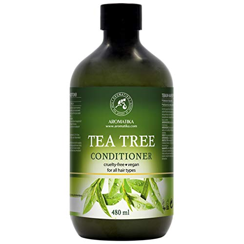 Haar Conditioner 480ml met Tea Tree Olie - Macadamia & Camelia Oliën - Conditioner voor Groei en Volume - voor Alle Haartypes - Sulfaatvrij en Zonder Parabenen