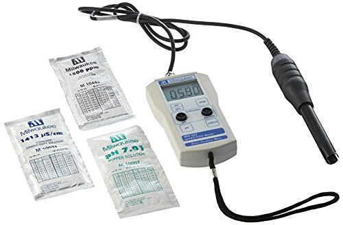 Milwaukee Instruments MW802 Smart Ph/EC/TDS Combined Meter - 716615
