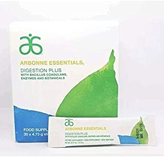 Arbonne Digestion Plus Dietary Supplement 30 stick packs/box