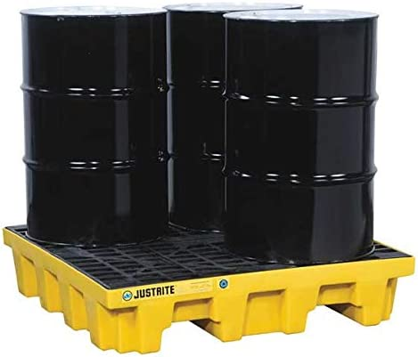 Bombing free shipping Drum Spill Cntnmnt Pallet lb. 5k Max 77% OFF 4