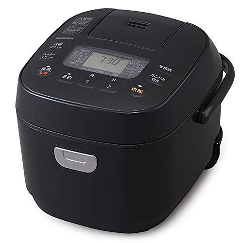 アイリスオーヤマ 炊飯器 3合 マイコン式 40銘柄炊き分け機能 極厚火釜 玄米 2020年モデル ブラック RC-ME30-B