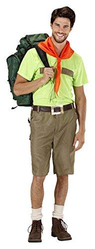 WIDMANN 2029?Boy Scout, rojo/negro, talla XL