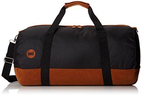 Mi Pac Duffel Bag - Quality Holdall Weekender Travel Bag, Flight Bag or Gym Bag | Water Resistant Fabric with Removable Shoulder Bag Strap for Men & Women - Black 30L