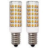 Lampadina LED E14 Luce Bianca Calda 12V 4W Illuminazione per Dispositivi Mobili, Camper Barche Camion, Luce Notturna di Ricambio 30W 40W Lampadine Alogene (Non 230 V), Confezione da 2