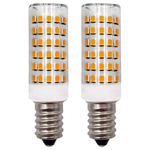 ZHENMING E14 LED Warmweiss Lampen 12V 4W Beleuchtung für Mobile Geräte, Wohnmobil Boote LKW Nachtlicht Ersatz 30W 40W Halogen Glühbirne (Nicht 230V LED-Leuchtmittel), 2er-Pack [MEHRWEG]