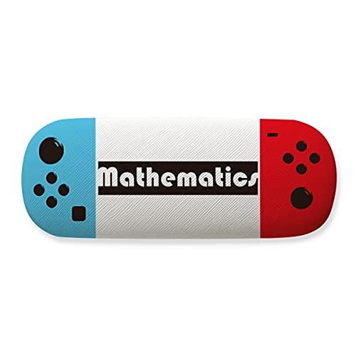 Course And Major Mathematics Estojo preto para guardar óculos criativo