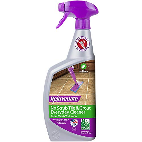 Rejuvenate Bio-Enzymatic Scrub Free Tile and Grout Cleaner Lightens and Brightens Every Time (32oz)