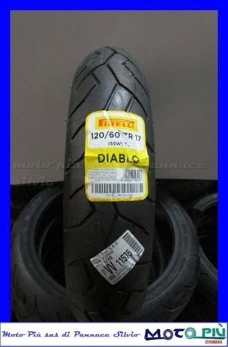 Goma neumático Pirelli Diablo 120/60-17 55W TL M/C DOT 2015