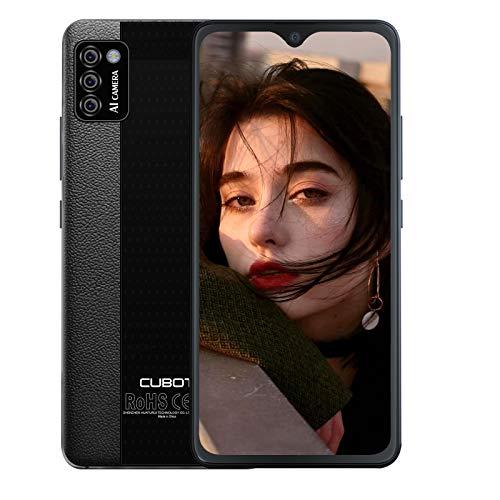"Unlocked Smartphones, CUBOT Note 7 Android 10, 4G Dual SIM Unlocked Cell Phones, 5.5"" HD Display, Triple Cameras, 2GB/16GB, 128GB Extension, 3100mAh Battery, US Version, Black"