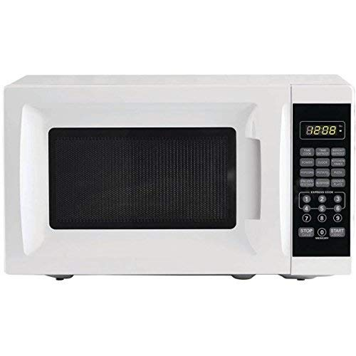For Sale! Mainstays 0.7 cu ft 700W Output Microwave Oven, White