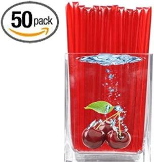 Sour Wild Cherry Flavored Honeystix - Flavored Honey - Pack of 50 Stix - 250g