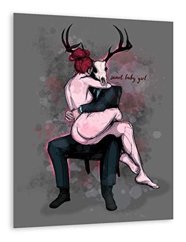 Deer Daddy Series 3: Sweet Baby Girl Fine Art Print