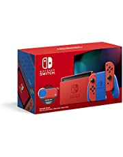 Console Nintendo Switch Edition Mario Rouge/Bleu