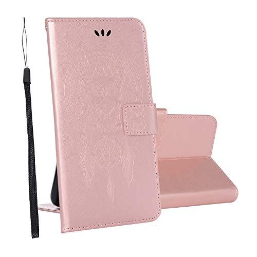 yueer Cover ASUS Zenfone Max PRO M1/ZB601KL/ZB602KL,con [Portafoglio] [Funzione Stand] [Chiusura Magnetica] per Custodia in Pelle ASUS Zenfone Max PRO M1/ZB601KL/ZB602KL