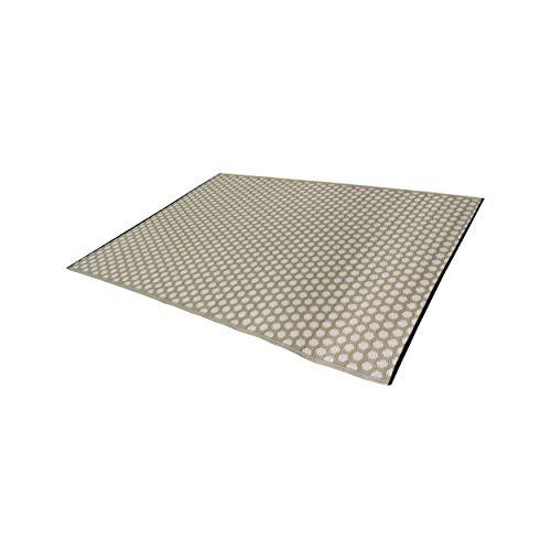 Solys Tapis d'extérieur Taupe Rectangulaire 230 x 160 cm polypropylène Solys