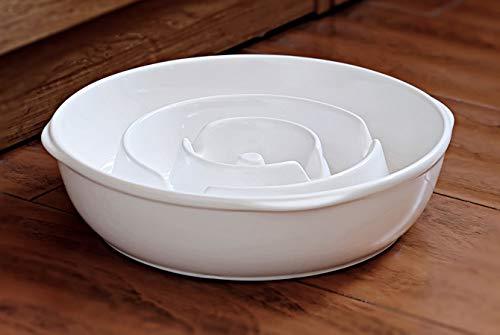 BestVida Premium Stoneware Bowl (Large, Slow Feeder)