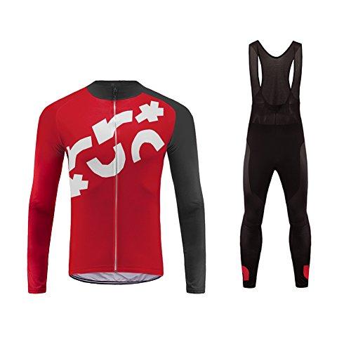 Uglyfrog Radsport Trikots Trek Lange Ärmel Sport & Freizeit Shirts Herbst-Winter with Fleece Fahrradbekleidung