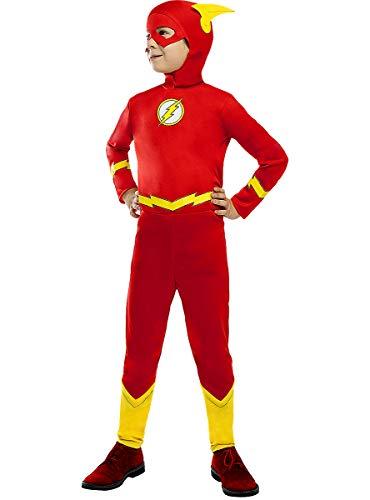 Funidelia | Costume Flash Ufficiale per Bambino Taglia 10-12 Anni ▶ Supereroi, DC Comics, Justice League - Multicolore