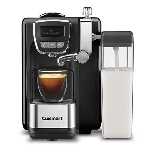 """Cuisinart EM-25 Defined, Cappuccino & Latte Espresso Machine, 13.5""""(L) x 8.0""""(W) x 10.0""""(H), Black"""