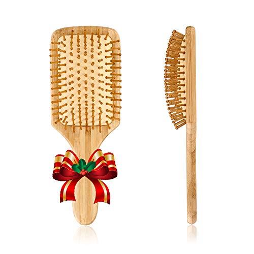 Pretty See Cepillo de pelo de Madera Peine de Masaje Cuero Cabelludo C