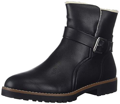 Nautica Women's Ensign Ankle Boot, Black, 8.5 Medium US