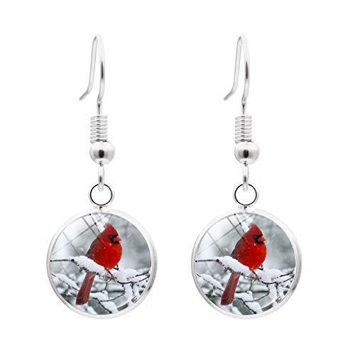 Kaijia Tree of Life Necklace,Cardinal Red Bird On Tree Bangle Bracelet Memorial Jewelry Sympathy Bereavement Keepsake Gift set