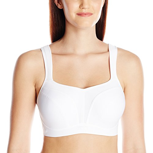 Panache womens Underwired Sports Bra , White , 34FF