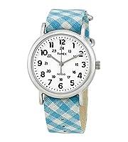 Timex ウィークエンダー ホワイトダイヤル レディースウォッチ TW2R24400