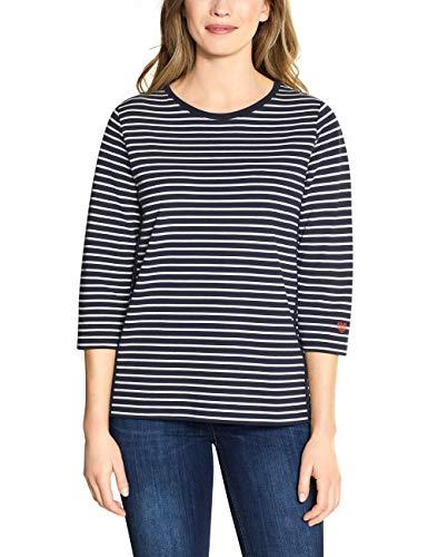 Cecil Damen 301240 Sweatshirt, deep Blue, XX-Large