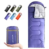 MOONCAST Sleeping Bag 4 Seasons - Warm & Cold Weather - Lightweight, Portable, Waterproof - Use for...