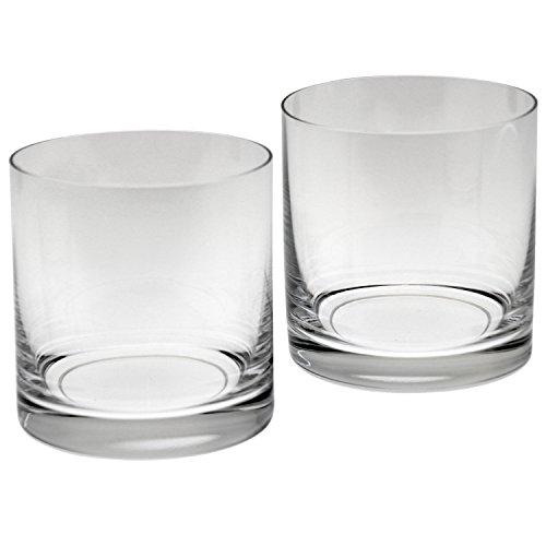 SuskaRegalos-Set 6 Vasos Cristal Bohemia Whisky Bajos 41 Cl _ø9x9,5cm