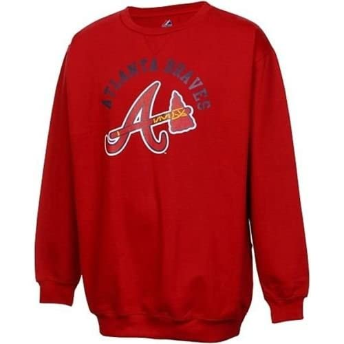 huge selection of 19b06 ebbcd Atlanta Braves Sweatshirt: Amazon.com