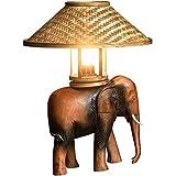 DXYSS Lámpara de Mesa de Iluminación Decorativa Interior Lámpara de Mesa - Mesilla de Noche y lámpara de Mesa Lateral - Dormitorio de la lámpara contemporánea de Suave luz de Noche