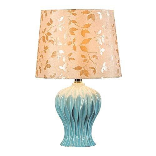 HJY Home Simplicity Lámpara de Mesa, Minimalista Europea Moderna, Dimensiones Diámetro 31 * Altura 48 Cm, Ampliamente Utilizado en Dormitorios, Salas de Estar, Habitaciones Infantiles, Restaurantes