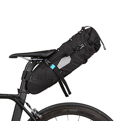 Best Buy! JKGLD Bike Bag Waterproof Bike Pannier Bag Bike Trunk Bag Quick Release Frame Bag for Road...