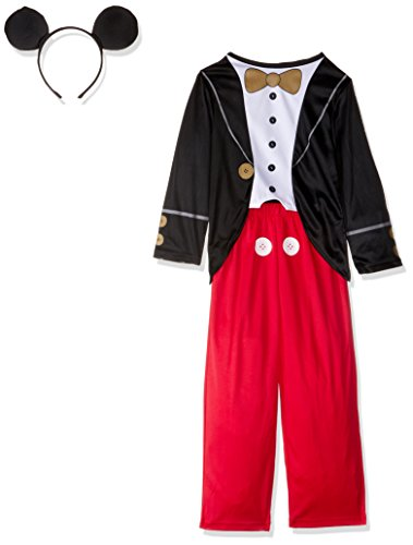 Rubie's IT610380-S - Costume per Bambini Topolino B.No, M