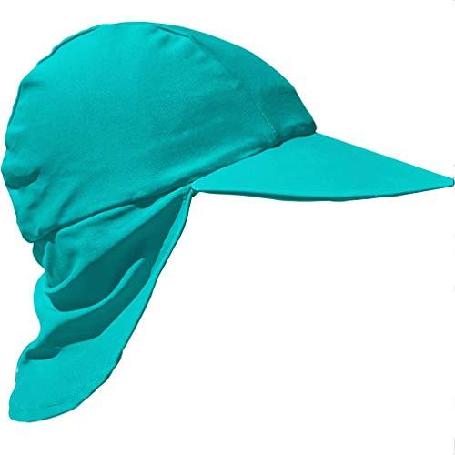 Zunblock - Cappello da sole con protezione UV UPF 50+, 0-2 anni, 2-8 anni Verde smeraldo M