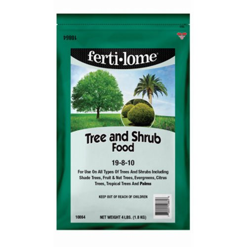 Voluntary Purchasing Group Fertilome 10864 Tree and Shrub Food, 19-8-10, 4-Pound