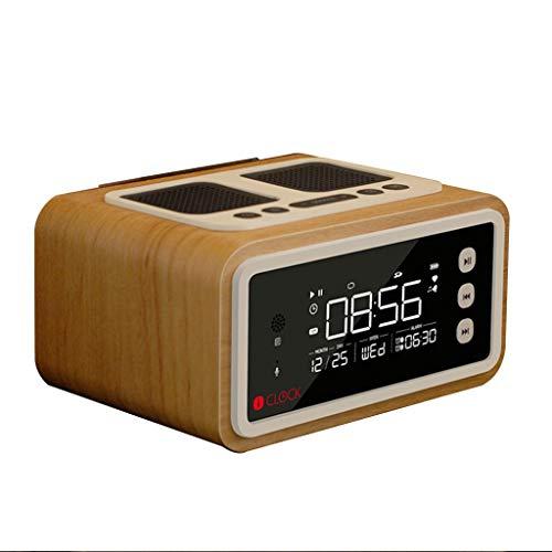 Bluetooth luidspreker, woord alarm mobiele klok handsfree draadloze subwoofer HD geluid