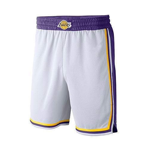 Herren Trikots, NBA Los Angeles Lakers Retro Trikots, Vintage Basketball Spieler Shorts, atmungsaktive und tragbare Stickerei, Shorts für Männer und Männer