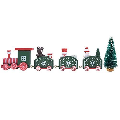 Bett Tren de Navidad con un árbol de Navidad, Tren de decoración...