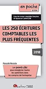 Les 250 écritures comptables les plus fréquentes de Pascal Recroix