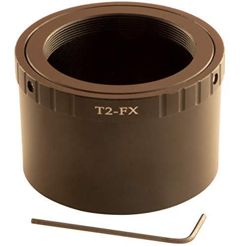 Anillo Adaptador T2 T2-FX para Objetivo T/T2 a Fujifilm X-A7 X-A5 X-A3 X-A2 X-A1 X-A10 X-T3 X-T1 X-M1 X-E3 X-E2 X-E2S X-E1 X-E1 X-Pro3 X-Pro2 X-Pro1 X-Pro1 X-Pro1 X-Pro2 X-Pro1