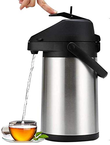 Termo termo dispensador de bebidas Catering vacío aislamiento aire olla jarra para bebida fría caliente té café acero inoxidable-Stainless steel liner  4000ml