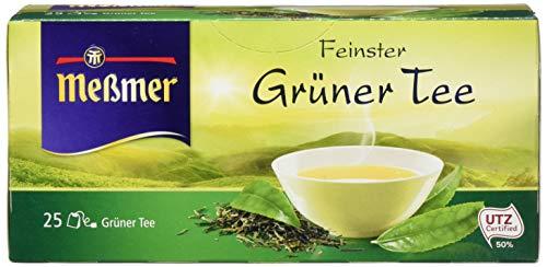 Meßmer Grüner Tee (12icht aromatisiert) 25 TB, 12er Pack (12x 43,75 g Packung)